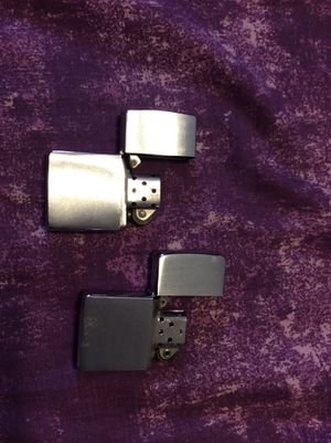 Two zippo lighters for Sale in Fresno, CA