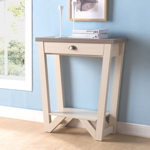 Console Table, Ivory and Dark Taupe, SKU# ID161779TC for Sale in Norwalk, CA