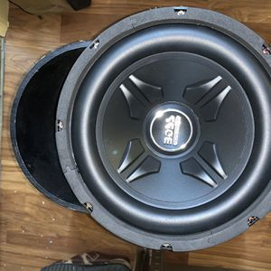 """BAZOOKA 10"""" PASSIVE BASS TUBE WITH BRAND NEW SUBWOOFER for Sale in Daly City, CA"""