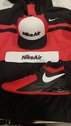 Nike Bundle -Jacket/Hat/Shoes for Sale in Stoughton, MA