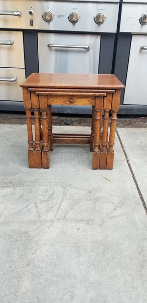 Antique Nesting Tables for Sale in San Carlos, CA