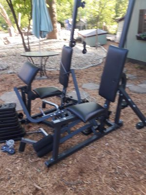 Universal weight set . All there. 300 other items. look under sellers other items for Sale in Atlanta, GA