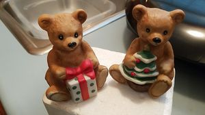 Set of Christmas bears for Sale in Cranberry Township, PA