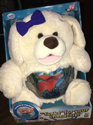Kids fish tank with teddy bear for Sale in Stockton, CA