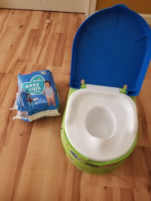 Training potty and pull ups for Sale in Milton, WA