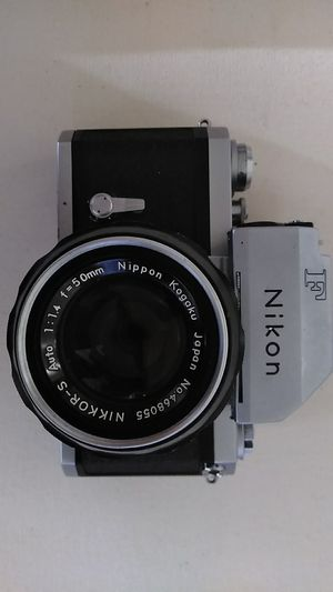 Nikon F 35mm film Camera with 50mm f1.4 lens for Sale in Torrance, CA