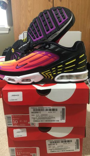 Air max plus 3 hyper violet for Sale in Bothell, WA