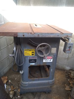 """Delta Rockwell 10in """"Unisaw"""" Table saw for Sale in Los Angeles, CA"""