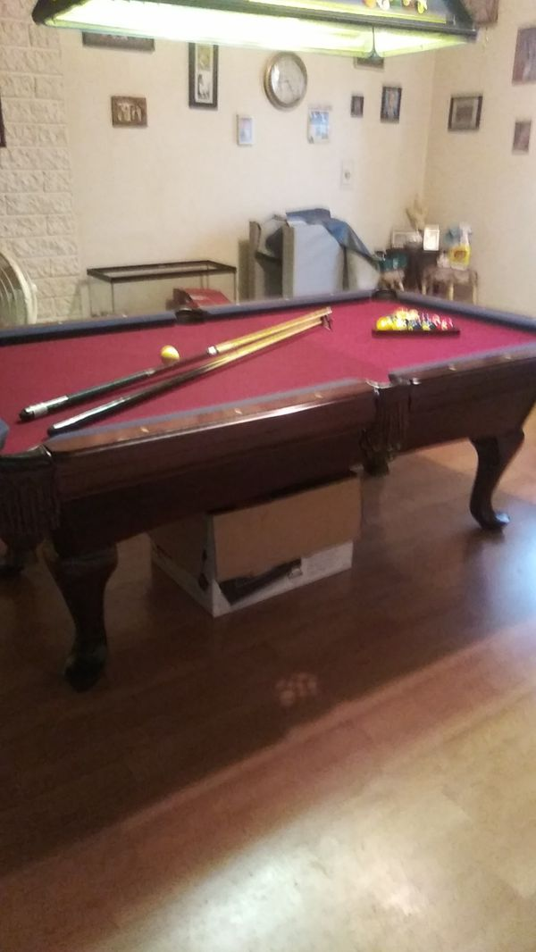 Amf Playmaster Pool Table With Accessories For Sale In Chula Vista Ca Offerup