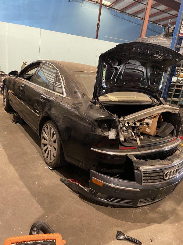 Audi A8 part out