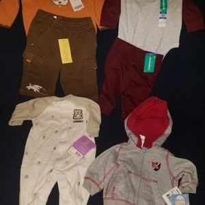 6 New Baby Clothes Size 3-6months for Sale in Bell, CA