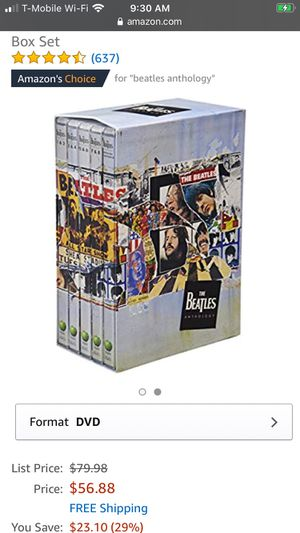 The Beatles dvds for Sale in Atwater, CA