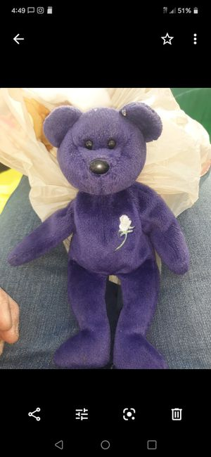 Princess Diane no tags beanie baby for Sale in Dracut, MA