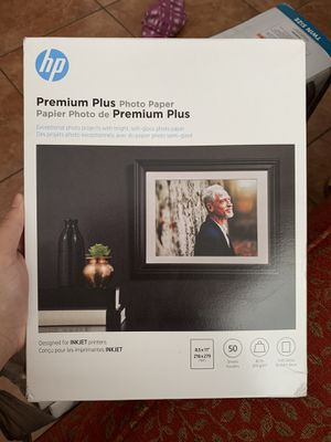 Premium Plus Photo Paper - HP for Sale in Tampa, FL