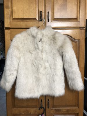 Beautiful Fur dress coat. Size youth 9/10 for Sale in Lemont, IL