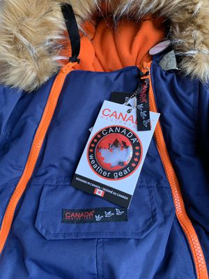 Canadá weather gear, Waterproof Shell baby boys , Color Navy Size 12M. for Sale in MONTGOMRY VLG, MD