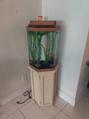 14 gallon fish tank for Sale in Fort Lauderdale, FL