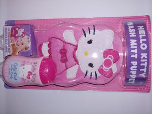 Hello Kitty Wash Mitt Puppet for Sale in St. Louis, MO