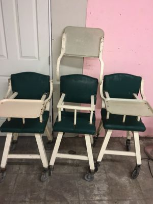 Antique baby high chairs for Sale in Dallas, TX