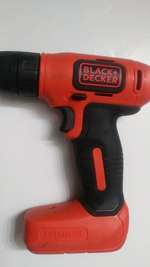 Black and decker lithium drill no battery required for Sale in Louisville, KY