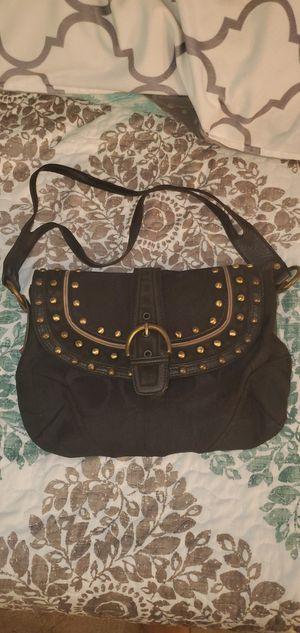 Black coach hand purse for Sale in Alexandria, VA