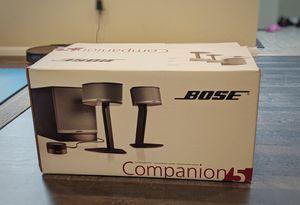 Bose companion 5 speaker system for Sale in Kirkland, WA