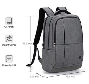 New OIWAS Laptop Backpack 17 Inch For Men Business 17.3 Inch Bagpack Women Travel Daypack Large College School Bookbag Teens- Grey(pick up only) for Sale in Franconia, VA