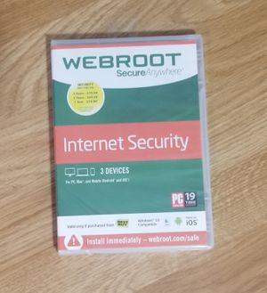 Internet security - new in package for Sale in Phoenix, AZ