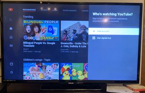 """Philips TV 55"""" and 50"""" / TCL tv/ stand for Sale in Marietta, OH"""