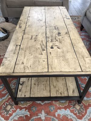 "Ballard Design ""Durham"" Rectangular Coffee Table for Sale in Tampa, FL"