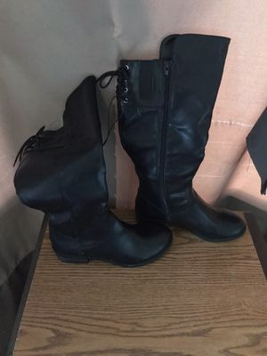 New long leather boots for Sale in Columbus, OH