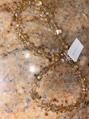 Bronze double bracelets. Swarovski crystals for Sale in Brooklyn, NY