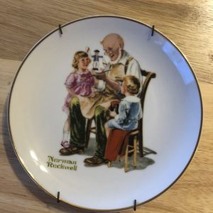 """1984 Norman Rockwell Museum Collector's Plate """"The Toymaker"""" for Sale in Frostproof, FL"""