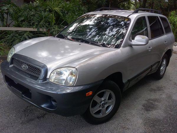 2003 Hyundai Santa Fe Very Clean