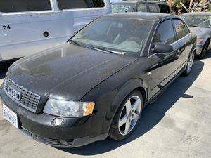 2002 Audi AG (FOR PARTS) bad engine for Sale in Hemet, CA