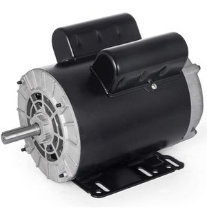 BRAND NEW Electric Motor 3 HP Single Phase Motor 3450 RPM 60Hz AC Motor 56 Frame SPL Air Compressor Motor AC 115/230V Rot-CCW Suit for Agricultural M for Sale in Bradbury, CA
