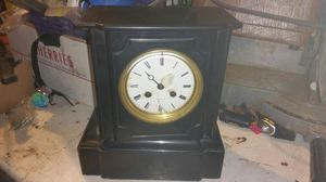 Antique marble clock, for Sale in Alameda, CA