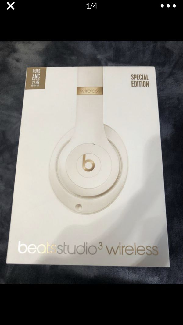 Beats Studio 3 Wireless Special Edition beats by dre