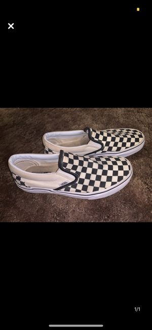 Checkered vans for Sale in Youngstown, OH