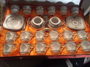 Antique 24CT. Gold plated tea Set made in japan for Sale in Columbia, MO