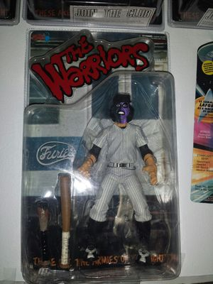 THE WARRIORS. BASEBALL FURIES PURPLE & BLACK NEW IN PACKAGE CLEAN VERSION for Sale in Irwindale, CA