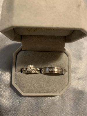 Diamond wedding ring set for Sale in BETHEL, WA