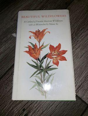 Beautiful Wild Flowers Nanae Ito Book for Sale in Salt Lake City, UT