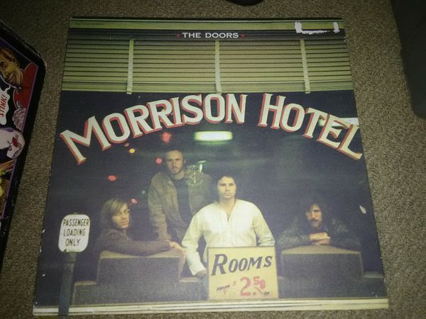 The Doors Morrison Hotel Record