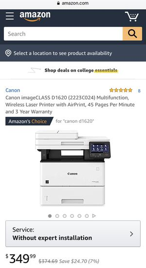 New cordless laser printer for Sale in San Gabriel, CA