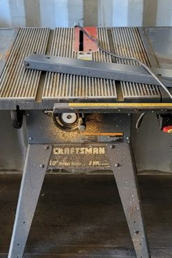 Craftsman Table Saw for Sale in Covington,  GA