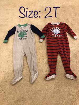Boys 2T Footed Pajamas for Sale in Chula Vista, CA