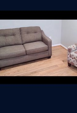 Love Seat & Modern Contemporary Accent Chair for Sale in Fort Washington,  MD