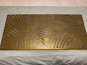 Gold Mirror Wall Art Plaque for Sale in Hutto, TX
