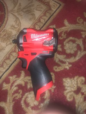 Milwaukee m12 fuel 3/8 impact wrench stubby for Sale in Silver Spring, MD